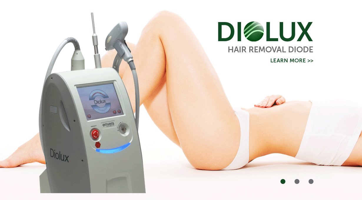 Diolux Hair Removal Diode Device -     Slider Image | Emvera Technologies, Medical and Cosmetic Devices