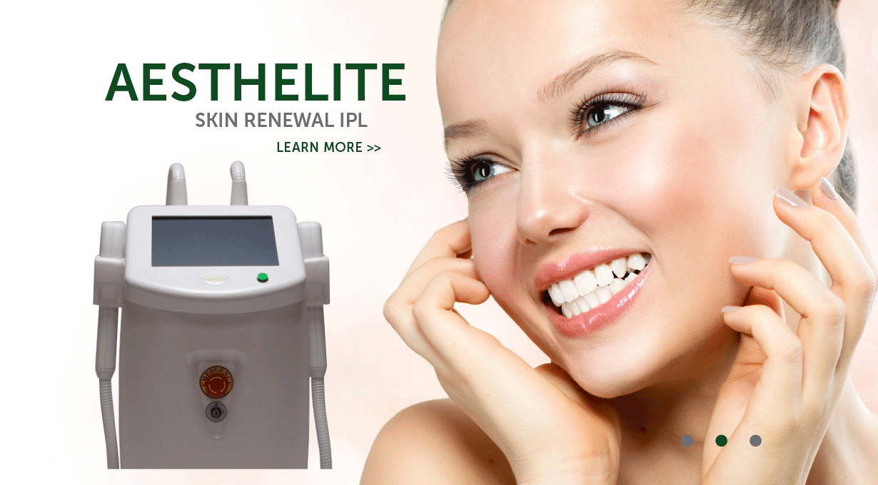 Aesthelite Skin Renewal IPL Device Slider Image | Emvera Technologies, Medical and Cosmetic Devices