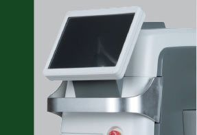 Fraxis Duo CO2 Fractional Laser with RF Microneedling Device Button | Emvera Technologies, Medical and Cosmetic Devices